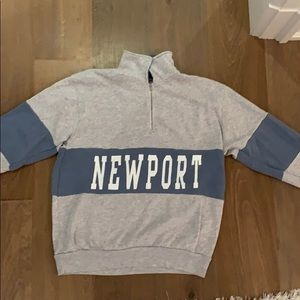 Brandy Melville Newport quarter zip